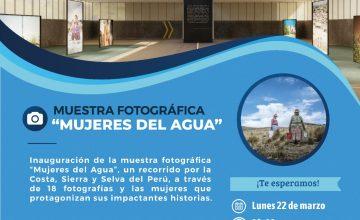 """""""Mujeres del Agua"""" Muestra fotográfica virtual destaca la apuesta del sector hídrico por la igualdad de género"""