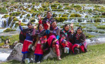 Mujeres líderes locales podrán fortalecer su participación y liderazgo en la gestión del agua